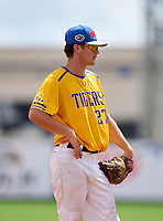 Union County Fightin' Tigers third baseman Tripp Davis (27) during the 42nd Annual FACA All-Star Baseball Classic on June 6, 2021 at Joker Marchant Stadium in Lakeland, Florida.  (Mike Janes/Four Seam Images)