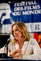 File Photo, Montreal (Qc) CANADA<br /> Liv Ullman Press Conference  during the 1999 World Film Festival.