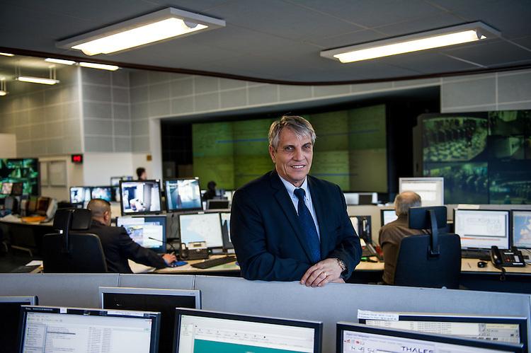 Christian FREDENUCCI, coordinateur PC Sûreté - Images personnel et matériel RTM - Régie des Transports Marseillais - Marseille