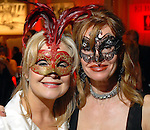 """Penny Schoelman Haber and Susan Wright at the San Luis Salute to """"The Italian Riviera"""" at the Galveston Island Convention Center at the San Luis Friday  Feb. 20, 2009.(Dave Rossman/For the Chronicle)"""
