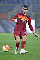Gianluca Mancini of AS Roma in action during the Europa League round of 32 2nd leg football match between AS Roma and Sporting Braga at stadio Olimpico in Rome (Italy), February, 25th, 2021. Photo Andrea Staccioli / Insidefoto