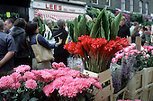Sunday flower market, Columbia Road, Tower Hamlets, London
