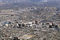 aerial view of downtown Albuquerque New Mexico