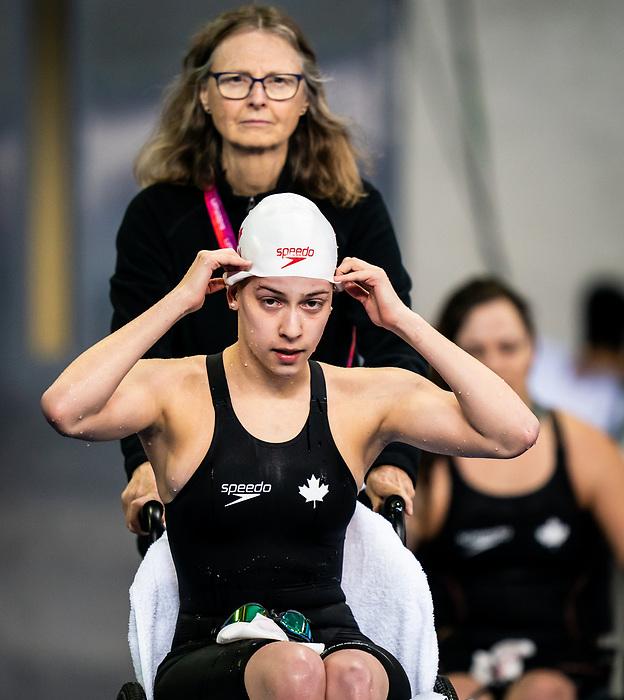 Michelle Tovizi, Lima 2019 - Para Swimming // Paranatation.<br /> Michelle Tovizi competes in women's 50m freestyle S7 // Michelle Tovizi participe en 50 m libre féminin S7. 28/08/2019.