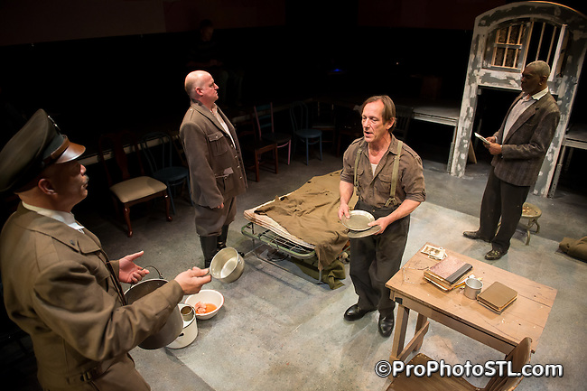 Conversations with an Executioner presented by Upstream Theatre at Kranzberg Center in St. Louis, MO on Apr 11, 2012.