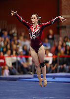Stanford, CA; Saturday February 2, 2013: Women's Gymnastics, Stanford vs UCLA.