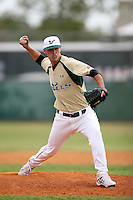 February 22, 2009:  Pitcher Joe Cole (36) of the University of South Florida during the Big East-Big Ten Challenge at Naimoli Complex in St. Petersburg, FL.  Photo by:  Mike Janes/Four Seam Images