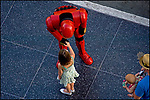 Street character, Hollywood Blvd., 1997