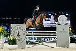 Emanuele Gaudiano of Italy riding Jamar d'Ysenbeeck Z competes in the Maserati Masters Power during the Longines Masters of Hong Kong at AsiaWorld-Expo on 10 February 2018, in Hong Kong, Hong Kong. Photo by Diego Gonzalez / Power Sport Images