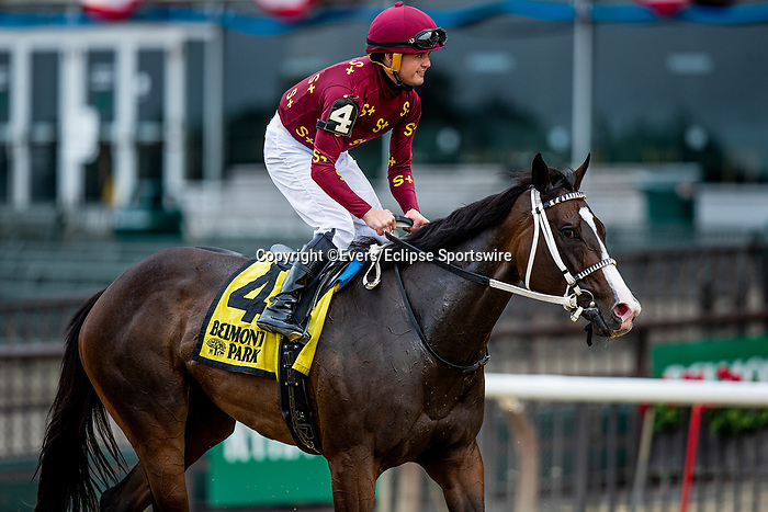 June 3, 2021:  Change of Control with Colby Hernandez winning the Intercontinental Stakes at Belmont Park in Elmont, New York on June 3, 2021. Evers/Eclipse Sportswire/CSM