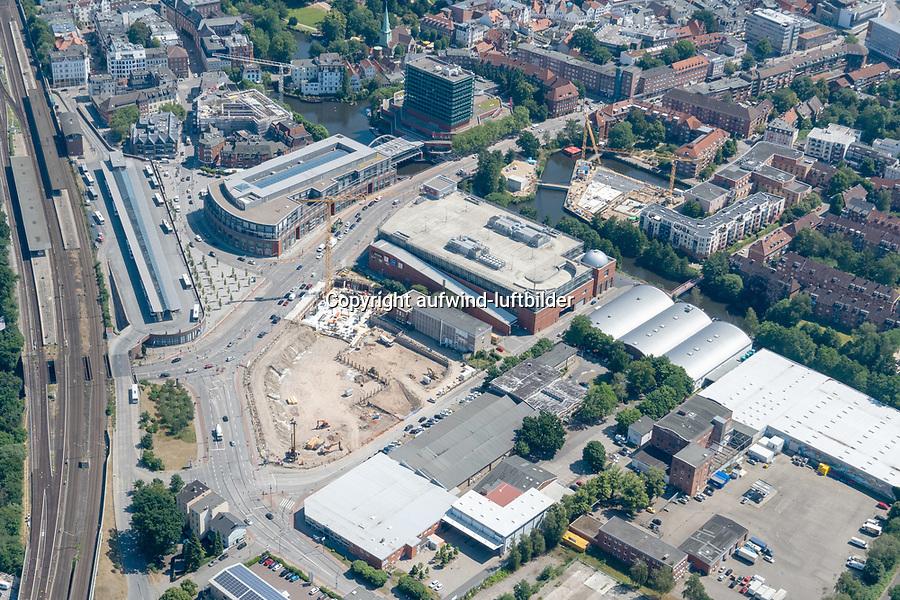 Bergedorf Tor, Alte Post : EUROPA, DEUTSCHLAND, HAMBURG, (EUROPE, GERMANY), 26.06.2020: Bergedorf, Bergedorf Tor,
