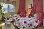 New home model bedroom for Anastasi Development.