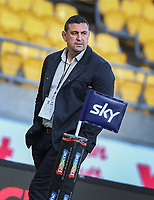 Chiefs Head Coach Clayton McMillan. Super Rugby Aotearoa. Hurricanes v Chiefs. Sky Stadium, Wellington. Saturday 20th March 2021. Copyright photo: Grant Down / www.photosport.nz