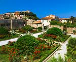 Italien, Toskana, Insel Elba, Portoferraio: Park der Villa dei Mulini, Napoleons Exil | Italy, Tuscany, island Elba, Portoferraio: garden of Villa dei Mulini, Napoleon's exile