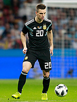 Argentina's Giovani Lo Celso during international friendly match. March 27,2018.(ALTERPHOTOS/Acero) /NortePhoto.com NORTEPHOTOMEXICO