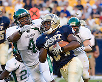 01 September 2007:Pittsburgh running back LaRod Stephens-Howling (34)..The Pitt Panthers defeated the Eastern Michigan Eagles 27-3 at Heinz Field, Pittsburgh, Pennsylvania.