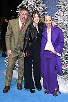 """Greg Wise, Emma Thompson and daughter, Gaia<br /> arriving for the """"Last Christmas"""" Premiere at the BFI Southbank, London.<br /> <br /> ©Ash Knotek  D3531 11/11/2019"""