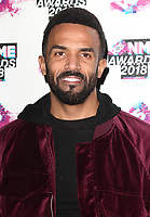 File photo of singer Craig David who has been awarded a MBE for services to music<br /> VO5 NME Awards 2018 at the O2 Academy Brixton, London on Wednesday 14 February 2018<br /> <br /> Photo by Keith Mayhew