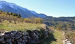 El Barida. Poble de Cava. Cami de Coll de Cristia. Alt Urgell.