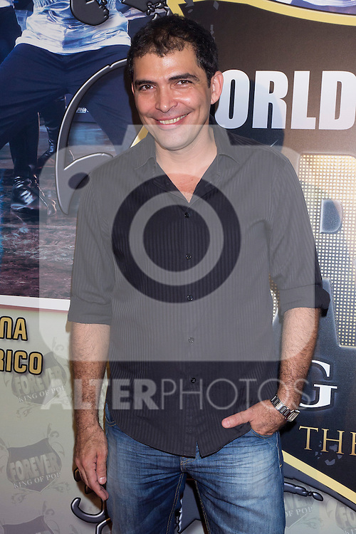 10.10.2012. Celebrities Attend ´Forever King Of Pop, Tribute to Michael Jackson´ Premier at the Teatro Nuevo Apolo in Madrid, Spain. In the image Jose Sospera  (Alterphotos/Marta Gonzalez)