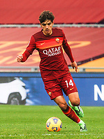 Rome, Italy, 07 Mar 2021.Roma's Gonzalo Villar in action during the Italian Serie A Football match between Roma and Genoa at Rome's Olympic stadium, March 7, 2021.<br /> UPDATE IMAGES PRESS/Riccardo De Luca