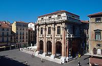 Loggia del Capitano erbaut von Andrea Palladio, Vicenza,  Venetien, Italien, Unesco-Weltkulturerbe