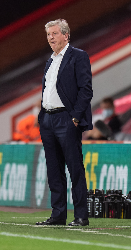 Crystal Palace manager Roy Hodgson <br /> <br /> Photographer David Horton/CameraSport<br /> <br /> Carabao Cup Second Round Southern Section - Bournemouth v Crystal Palace - Tuesday 15th September 2020 - Vitality Stadium - Bournemouth<br />  <br /> World Copyright © 2020 CameraSport. All rights reserved. 43 Linden Ave. Countesthorpe. Leicester. England. LE8 5PG - Tel: +44 (0) 116 277 4147 - admin@camerasport.com - www.camerasport.com