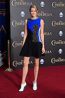 """LOS ANGELES - MAR 1:  Cody Horn at the """"Cinderella"""" World Premiere at the El Capitan Theater on March 1, 2015 in Los Angeles, CA"""