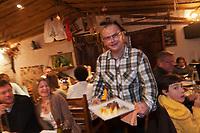 Europe/France/Rhône-Alpes/73/Savoie/Vallée de Belleville/Saint-Martin-de-Belleville: Eric Suchet, Restaurant: Le Montagnard [Non destiné à un usage publicitaire - Not intended for an advertising use]