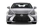 Car photography straight front view of a 2016 Lexus GS 350 4 Door Sedan Front View