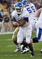 Buffalo Quarterback Chazz Anderson. The Pittsburgh Panthers beat the Buffalo Bulls 35-16 at Heinz field in Pittsburgh, Pennsylvania on September 3, 2011
