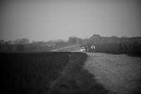 Paris-Roubaix 2012 recon..Team FDJ-BigMat training for Roubaix