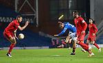 26.11 2020 Rangers v Benfica: Kemar Roofe scores goal no 2 for Rangers