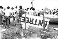 le Festival rock de Manseau, les 1er et 2 aout 1970<br /> <br /> PHOTO : Agence Quebec Presse - Photo Moderne