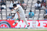 Jasprit Bumrah, India bowling from the pavilion end during India vs New Zealand, ICC World Test Championship Final Cricket at The Hampshire Bowl on 23rd June 2021