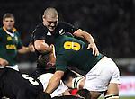 Keith Robinson. All Blacks v South Africa. International Tri Nations Rugby. Jade Stadium, Christchurch, New Zealand. Saturday 14 July 2007. Photo: Marc Weakley
