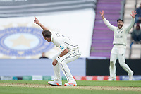 TIim Southee of New Zealand appeals in vain during India vs New Zealand, ICC World Test Championship Final Cricket at The Hampshire Bowl on 19th June 2021