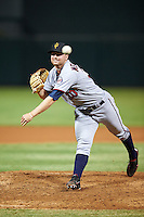 Surprise Saguaros pitcher Mason Melotakis (30), of the Minnesota Twins organization, during a game against the Salt River Rafters on October 21, 2016 at Salt River Fields at Talking Stick in Scottsdale, Arizona.  Salt River defeated Surprise 3-2.  (Mike Janes/Four Seam Images)