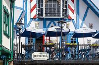 The Heidelberg German restaurant, Helen, Georgia, USA.