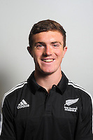 Tim Hogan. The 2015 New Zealand Schools rugby union team headshots at NZ Sports Institute, Palmerston North, New Zealand on Friday, 18 September 2015. Photo: Dave Lintott / lintottphoto.co.nz