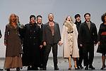WELCOME TO THE VOICE - Steve Nieve..Théâtre du Chatelet - Paris..15 november 2008....Dionysos - Sting..Lily, the singer - Sylvia Schwartz..The police captain - Elvis Costello....Credit : Laurent PAILLIER / ArenaPAL