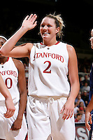 STANFORD, CA - NOVEMBER 29:  Jayne Appel of the Stanford Cardinal during Stanford's 105-74 win over the Gonzaga Bulldogs on November 29, 2009 at Maples Pavilion in Stanford, California.