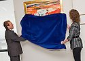 30/09/2010   Copyright  Pic : James Stewart.004_hospital_painting  .::  SERCO ::  SERCO'S MIKE MACKAY AND TERESA CANALIAS UNVEIL THE NEW PAINTING BY ARTIST ALEX MCMILLAN ESPECIALLY COMMISSIONED FOR THE NEW FORTH VALLEY ROYAL HOSPITAL  ::