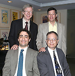 (B) Patrick Cook, Michael Kerker, (F) Daniel Mate and Alan Gordon attending the 23rd Annual Kleban Prize Reception at ASCAP on June 24, 2013 in New York City.