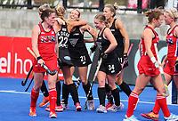 Alia Jaques during the Pro League Hockey match between the Blacksticks women and the USA, Nga Punawai, Christchurch, New Zealand, Sunday 16 February 2020. Photo: Simon Watts/www.bwmedia.co.nz