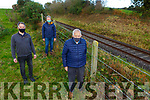 Michael Thornton David Crowley and Tom Meany at the site of the Drishanebeg ambush in Millstreet