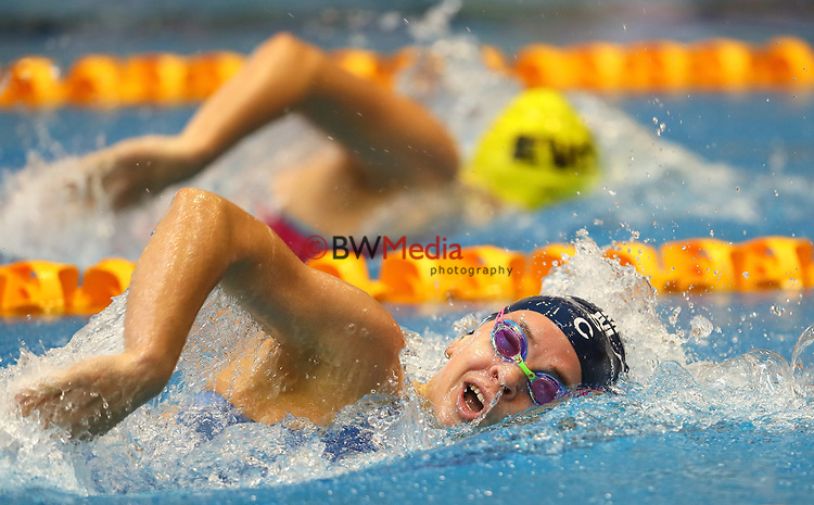 Lucy Bartlett. Session 1 of the AON New Zealand National Age Group Swimming Champs, Wellington Regional Aquatic Centre, Auckland, New Zealand.Monday 19 April 2021 Photo: Simon Watts/www.bwmedia.co.nz