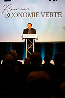 Le  Premier ministre Francois Legault lors du Conseil general<br /> de la CAQ , 25-26 mai 2019<br /> <br /> PHOTO : Agence Quebec Presse