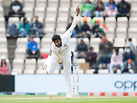 Jasprit Bumrah, India bowls the opening over of day 5 during India vs New Zealand, ICC World Test Championship Final Cricket at The Hampshire Bowl on 22nd June 2021