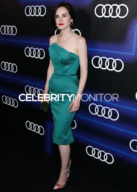 WEST HOLLYWOOD, CA, USA - AUGUST 21: Actress Michelle Dockery arrives at the Audi Emmy Week Celebration held at Cecconi's Restaurant on August 21, 2014 in West Hollywood, California, United States. (Photo by Xavier Collin/Celebrity Monitor)